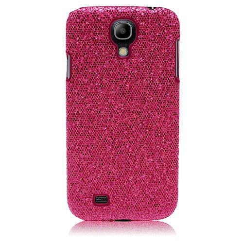 Xtra-Funky Esclusivo Lucente Paillette risplendere scintillanti scintillio per Samsung Galaxy S4 (i9500) - Rosa