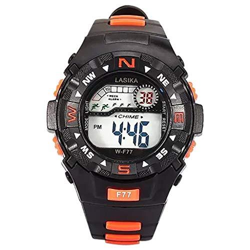 Yallylunn Multi Function Alarm Clock Student Waterproof Sports Fashion Electronic Watch Kratzschutz Anti Fall Weich Atmungsaktiv Und Leicht