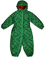 Regatta Splat Printed Fleece Lined Waterproof All-in-one suit