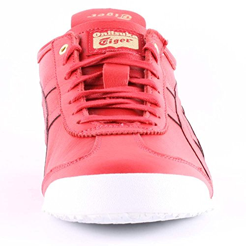 Onitsuka Tiger Mexico 66, Unisex-Erwachsene Low-Top Sneaker Red