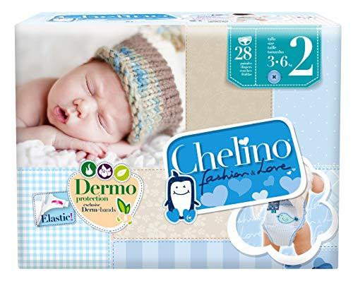comprar Chelino Fashion & Love, Talla 2, 168 pañales