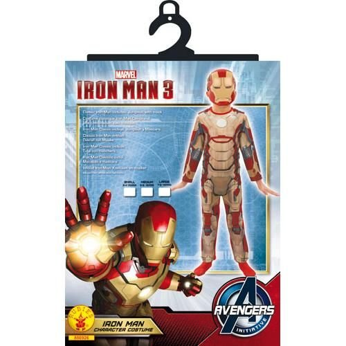 lassic - Kinder-KostŸm - Klein - 104cm (Iron Man Kostüm Alter 8)