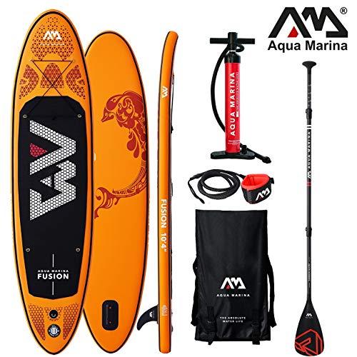 Aqua Marina Fusion 2019 SUP Board Inflatable Stand Up Paddle Surfboard Paddel