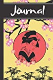"""Journal: Geisha Oriental Chinese Japanese Eastern Art Gift - Lined Journal, 130 pages, 6"""" x 9"""""""