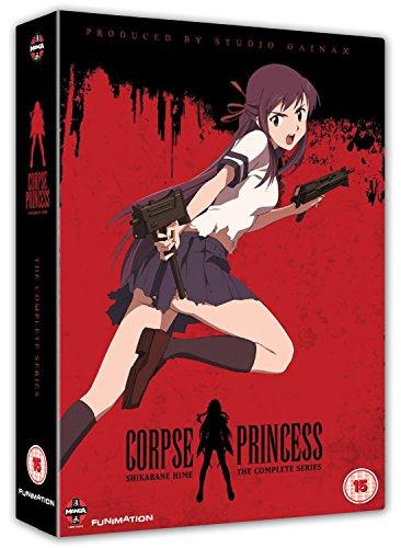 Shikabane Hime - Complete Series (4 Dvd) [Edizione: Regno Unito] [Import italien]
