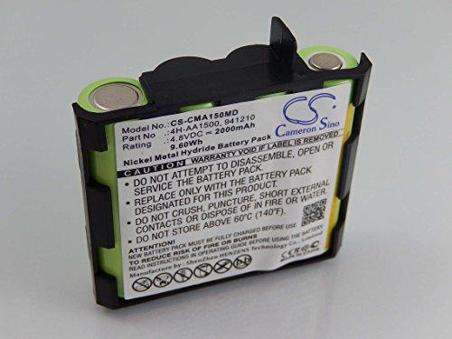 vhbw NiMH Akku 2000mAh (4.8V) für Muskel Stimulator Compex Fit 1.0, Fit...