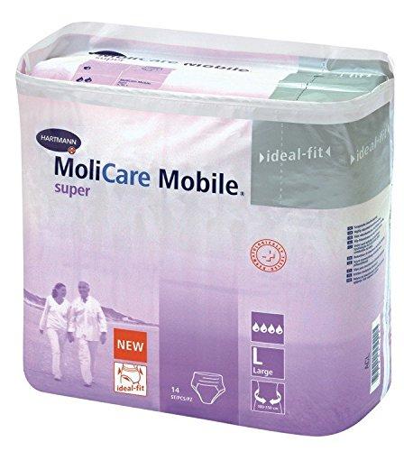 MoliCare Mobile super Gr. Large - PZN 00648712 - (14 Stück).