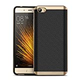 Xiaomi Mi5 , CORNMI Design Case Hybrid TPU + PC Protective Back Cover Case With Frame For Xiaomi M5 Mi 5 Mobile Phone (Gold)