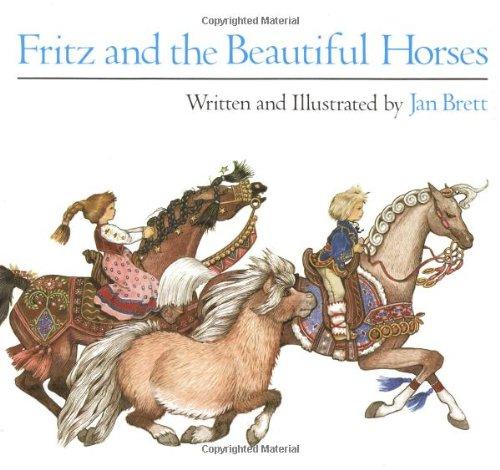 Fritz and the Beautiful Horses (Sandpiper Books) por Jan Brett