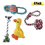 Hundespielzeug Kauspielzeug Baumwolle Geflochten Knochen Seil Kauen Knot Für Große Hunde