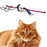 Sansee Tease Sticks Katze Spaß Spielzeug Hilfe Katzen Pet Kitten Jump / Katzenspielzeug (D)