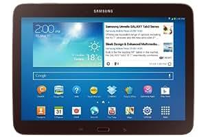 Samsung Galaxy Tab 3 25,7 cm (10,1 Zoll) Tablet (Intel Atom Z2560, 1,6GHz, 1GB RAM, 16GB interner Speicher, 3,2 Megapixel Kamera, WiFi, Android 4.2) gold-braun