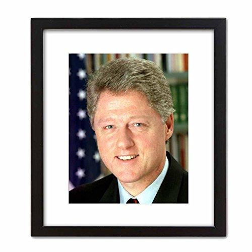 ArtDash? Art Wand dekotarion ~ Bill Clinton Offizielles Presidential Foto: in der Oval Office 8