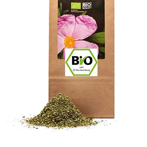 500 g Bio Cistus Bio Zistrosenkraut in geprüfter Premium Qualität ökologischer Anbau