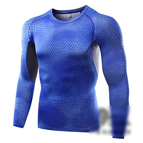 Mike Wodehous Männer kühlen Dry Sport Langarmshirts Compression Baselayer Shirts Compression Shirts
