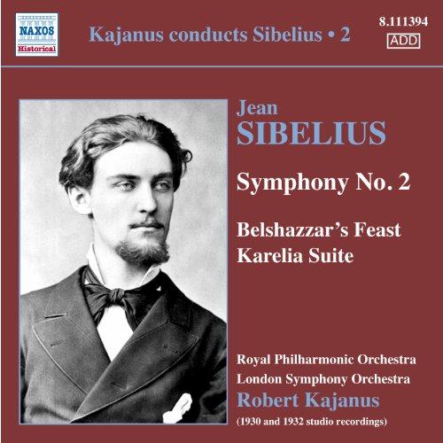Kajanus Conducts Sibelius, Vol. 2