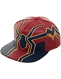 Bioworld Marvel Avengers: Infinity War Spider Suit Up PU Snapback Gorra De Béisbol