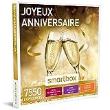 SMARTBOX - Joyeux anniversaire - Coffret cadeau celebration - À choisir parmi 7550 expériences : repas gourmand, soin relaxant et activité sportive pour fêter dignement cet événement