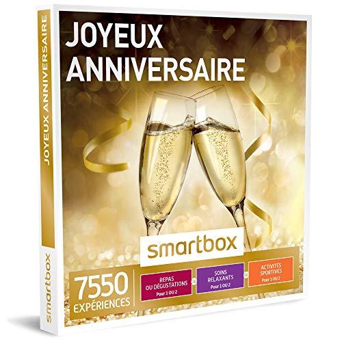 SMARTBOX - Joyeux anniversaire - Coffret cadeau celebration - À choisir parmi 7550...