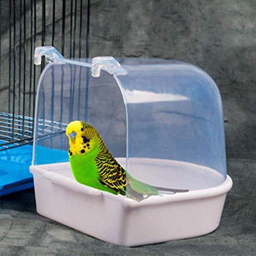 """Pájaro de plástico jardín silvestre libre Gusano Alimentador Con Soporte De Bandeja 9/"""" no ensucia Alimentador"""