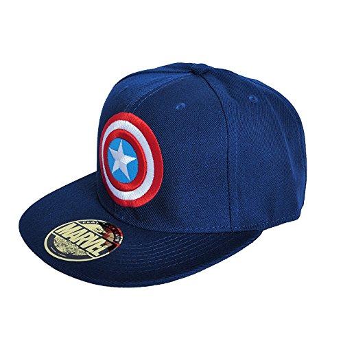 Toy Soldier Hüte - Captain America - Logo einstellbarer Cap