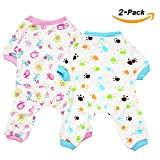 Scheppend Puppy perro pijamas acogedor suave trajes de mascotas dormir traje de ropa para peque?as...
