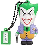 Tribe Warner Bros DC Comics Joker Clé USB 16 Go Fantaisie Pendrive USB Flash Drive 2.0 Originale Stockage Memoire, Idee Cadeau Figurine 3D, Stockage USB en PVC avec Porte-Clés – Multicolore