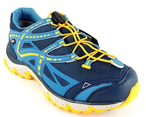 Mckinley Jr Chromosome Aqx, Chaussures montantes unisex - Bleu/jaune