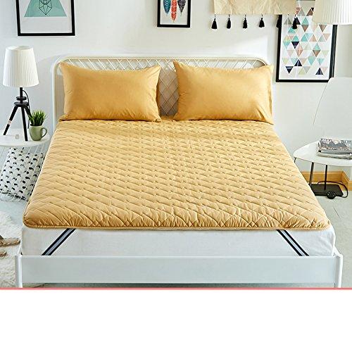 HYXL Anti-Mite Verdicken Sie Anti-Schleudern Tatami-Pad Bett matratzenbezug,Anti-bakterielle und Anti-Rutsch Matratzenauflage & Pad matratzenschoner-D 120x200cm(47x79inch)