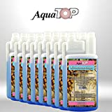 AquaTop® Milchschaum-Reiniger für Kaffeevollautomat und Kaffeemaschine - Flüssig-Reiniger mit Milchaufschäumer oder Sahnespender - 8x1 Liter