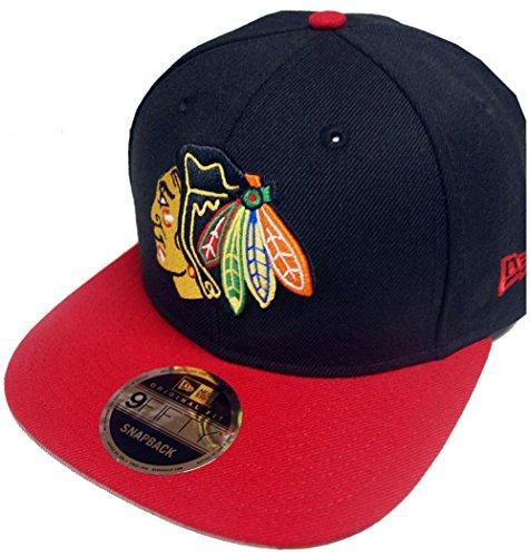 Blackhawks Chicago (New Era NHL Chicago Blackhawks 2 Tone Snapback Cap Kappe 9fifty Basecap)