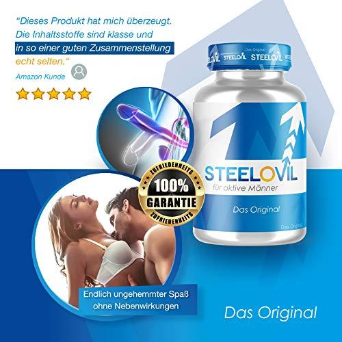 **NEU** Original STEELOVIL® – Für MÄNNER – 60 Kapseln | Neutrale Verpackung! | 100% GELD-ZURÜCK-GARANTIE - 2