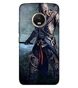 EagleHawk 3D Designer Printed Back Cover for Moto G5 Plus - D979 :: Perfect Fit Designer Case