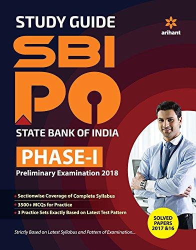 SBI PO Phase-1 Preliminary Examination Study Guide 2018