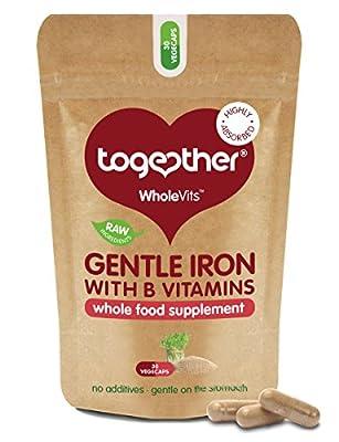 WholeVitTM Gentle Iron - 30 vegecaps from Together Health