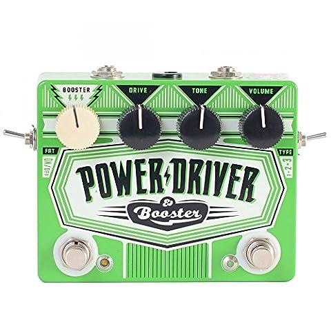 Dr. No effets POWER conducteur/BOOSTER TS Overdrive & aigus Boutique FX/Boost