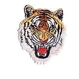 Tiger Löwe bestickt Patch Eisen auf annähen Aufnäher Badge Kleidung Jeans Decor longyitrade 6#
