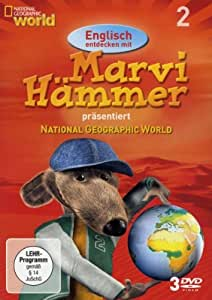 National Geographic - Marvi Hämmer präsentiert: Englisch entdecken mit Marvi Hämmer, Box 2 [3 DVDs]