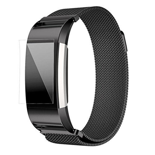 fitbit-strap-bands-kingwo-milanese-stainless-steel-watch-band-strap-bracelet-hd-film-wristwatch-repl