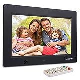 TEC.BEAN 10.1-Zoll 8G HD Digitaler Bilderrahmen mit Eingebautem Speicherung- und Bewegungssensoren, MP3- und Video-Wiedergab