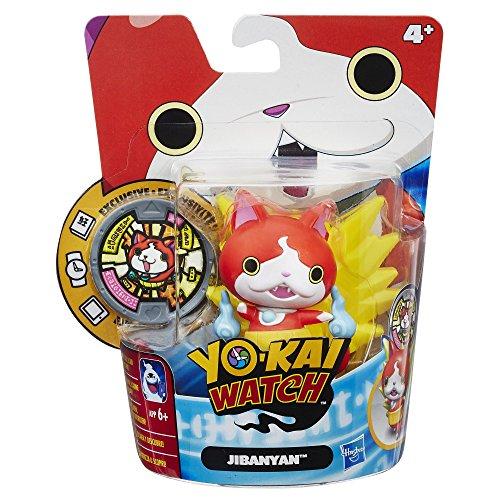 Hasbro Yo-Kai Watch b5938el5–Figurine Jouet Médaille Amis jiba Nyan, gestionnaire Jouets