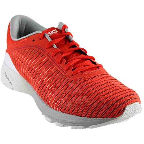Asics Dynaflyte 2 Mens Red Mesh Athletic Lace Up Running Shoes 11