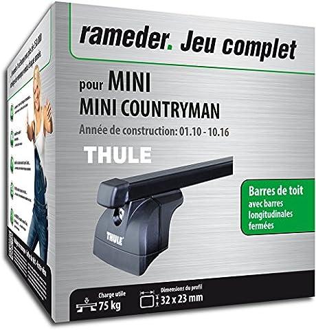 Pack Rameder barres de toit SquareBar pour MINI MINI COUNTRYMAN