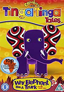 Tinga Tinga Tales Why Elephant Has A Trunk Dvd Amazon