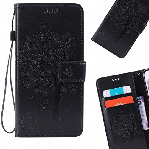 lemorry-microsoft-lumia-435-funda-estuches-pluma-repujado-cuero-flip-billetera-bolsa-piel-slim-bumpe