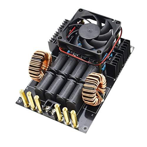 ZVS Calentamiento por inducción módulo de la máquina 1 KW de Baja tensión de Alta frecuencia DC12V-40V,Negro