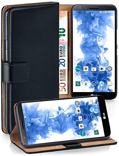 super popolare 0682d 83638 moex Cover OneFlow per LG G2 Custodia con scomparti documenti | Flip Case  Astuccio Cover per cellulare apribile | Custodia cellulare Cover rotettiva  ...