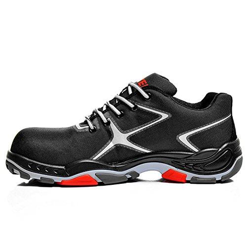 Elten 72622-47 Tribute Black Low Chaussures de sécurité ESD S2 Taille 47