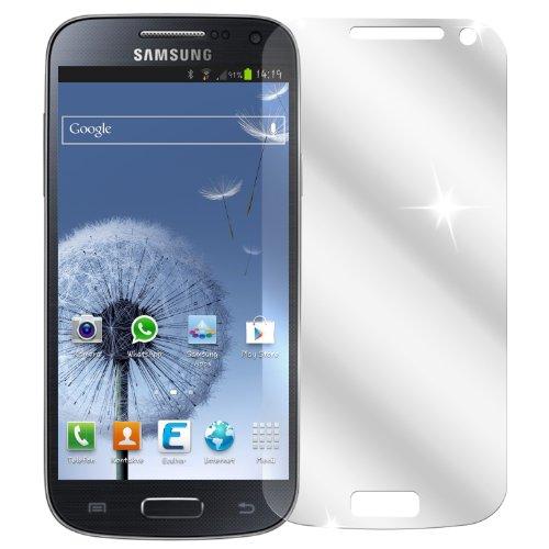 dipos I 2X Schutzfolie klar passend für Samsung Galaxy S4 Mini Folie Bildschirmschutzfolie