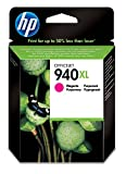 HP 940XL High Yield Magenta Original Ink Cartridge (C4908AE)